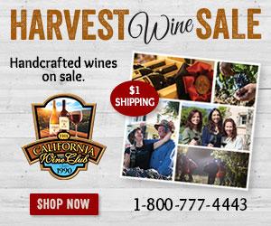 Harvest Wine Sale