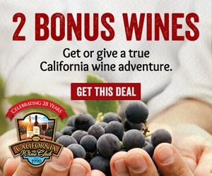 Bonus Wine for You!