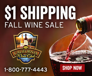 $! Shipping Fall Wine Sale