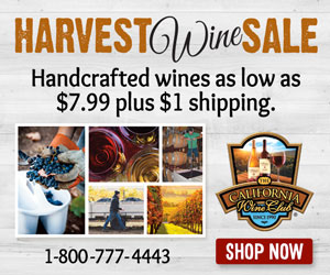 $1 Shipping Harvest Wine Sale!