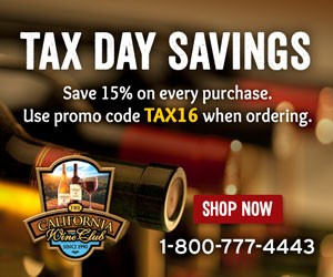 15% Off for Tax Time