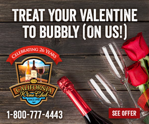 Bubbly On Us For your Valentine!