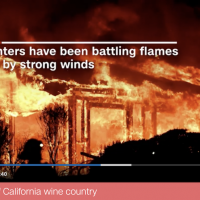 Flames engulf California wine country (CNN)