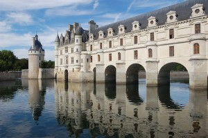 Château de Chenonceau, one of the scores of beautiful palaces that line the Loire Valley.