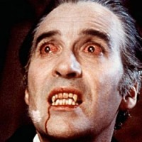 Christopher Lee in Dracula, 1972.