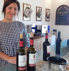 Gaida Liberati of Conte Leopardi winery.