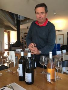 Winemaker Giovanni Basso. PHOTO: TERRY DUARTE.