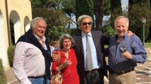 L. to R: Carlo Fusacchia, Terry Duarte, Antonio Santarelli, Neil Duarte.
