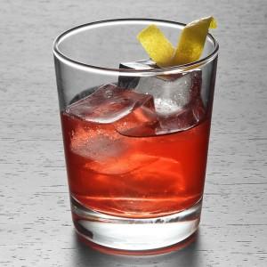 A Sazerac cocktail