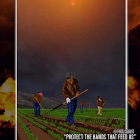 """""""Protect the Hands That feed Us."""" United Farm Workers poster."""