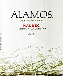 Alamos 2014 Mendoza Malbec