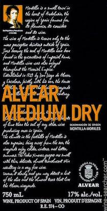 Alvear Medium Dry Pedro Ximenez