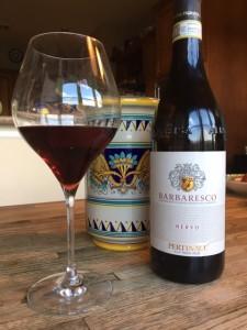 "Barbaresco ""Nervo"" from Cantina Pertinace. PHOTO: TERRY DUARTE."