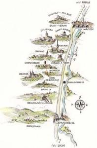 The 10 Crus of Beaujolais.