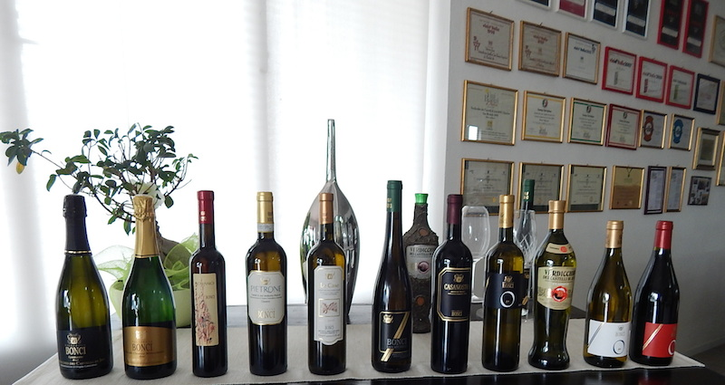 Wines from Bonci.