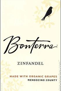 Bonterra 2012 Mendocino County Zinfandel