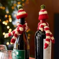 Wine Bottle Woolies set from Sundance.