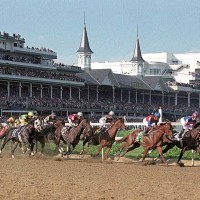 Kentucky Derby at Churchill Downs.