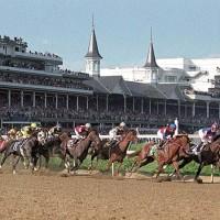 Kentucky Derby at Churchill Downs.