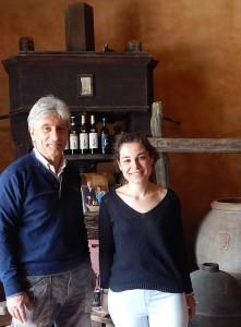 Duccio & Sarah Campani. PHOTO: TERRI DUARTE.