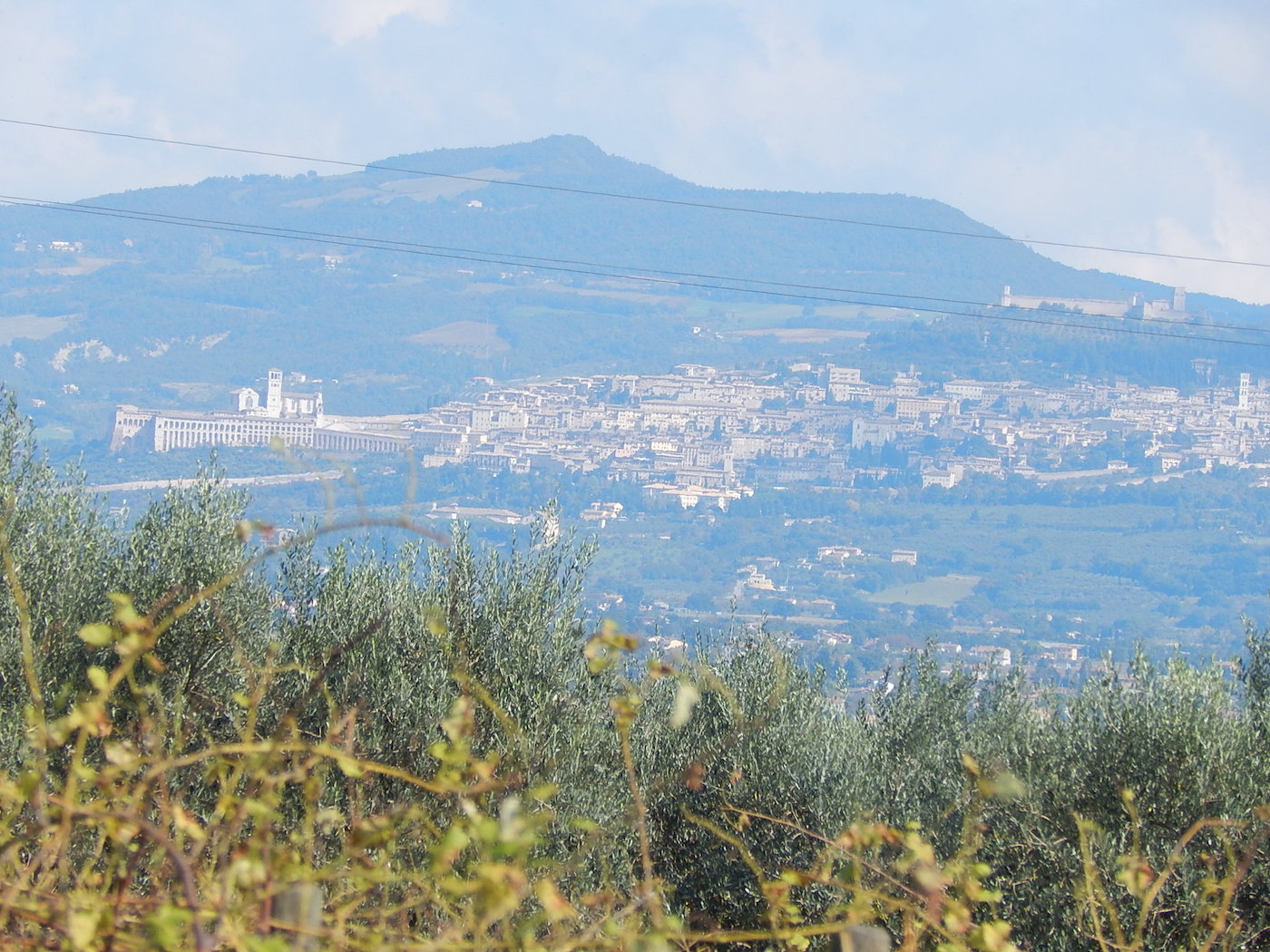 The Umbrian town of Assisi. PHOTO: TERRY DUARTE.