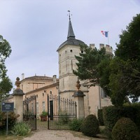 Chateau Pey-Bonhomme-les-Tours gets its name from the winery's 17th-century castellated tower,