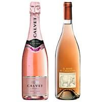 Two serious rosés