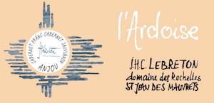 """Domaine des Rochelles 2013 """"l'Ardoise"""" Anjou Rouge"""