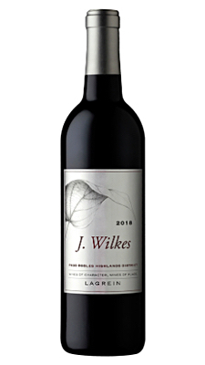 J. Wilkes Paso Robles Highlands District Lagrein